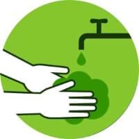 Isolamento social: lave as mãos