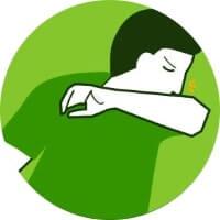 Isolamento social: tossir e espirrar com cuidado